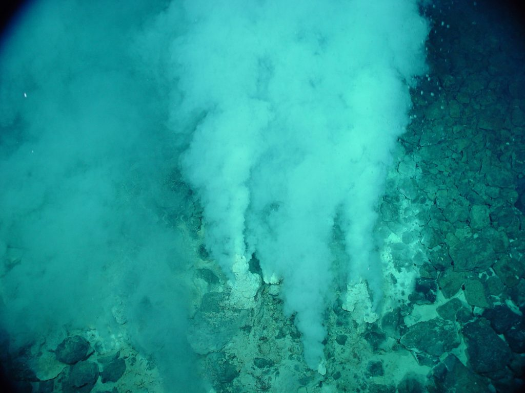 Hydrothermal Vent in Marianas trench